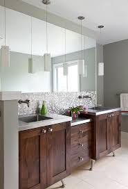 Bathroom Backsplash Ideas And Pictures by 30 Penny Tile Designs That Look Like A Million Bucks