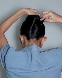 tutorial sirkam rambut panjang sanggul pramugari french twist skydewi