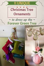 11 unique tree ornaments to dress up the forever green