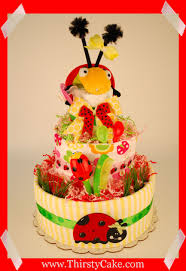 248 787 3010 l lady bug diaper cake i baby shower diaper cakes i