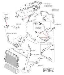 land rover parts coolant hoses 2 7 v6 diesel