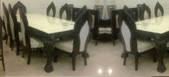 Dining Table Set Glass Top Dining Table Set Trader From Hyderabad - Glass top dining table hyderabad