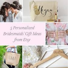 5 personalized bridesmaids u0027 gift ideas hill city bride