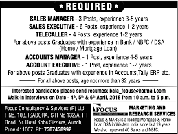 good resume for accounts manager job in chakan midc times ascent current week jobs in pune pune jobs jobs in india
