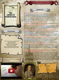 solutions did the articles of confederation fail