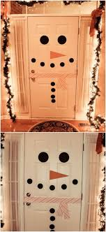 snowman door decorations 20 diy christmas door decorations to make your home blissfully