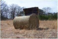 How To Make A Hay Bail Blind Haybale Blinds Pricing Best Priced Hay Bale Blinds Great