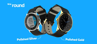 pebble u0027s time round now comes in polished gold and silver
