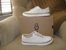 ugg womens indah shoes white ugg australia s canvas flats and oxfords ebay