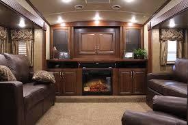 5th wheel with living room in front front living room fifth wheel toy hauler oh my husband would love