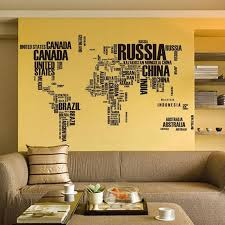 home decor 3d stickers removable 3d world map wall stickers home decor buy wall stickers