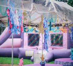 Mermaid Decorations For Party Kara U0027s Party Ideas Glamorous Mermaid Birthday Party Via Kara U0027s