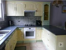 renovation cuisine rustique repeindre des meubles de cuisine rustique photo après