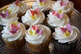 flowers and butterflies cupcakes u0026 cake rebecca cakes u0026 bakes