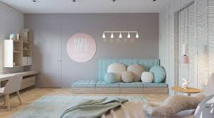 chambres modernes idee peinture chambre fille ado 3 d233coration enfant chambres