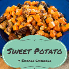 the chew michael symon s sweet potato sausage casserole