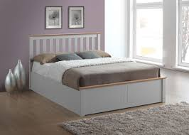 storage beds phoenix wooden ottoman bed