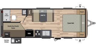 Springdale Rv Floor Plans Full Specs For 2017 Keystone Springdale 220bhwe Rvs Rvusa Com