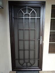 glass security doors door hinges using door security devices to secure swinging or
