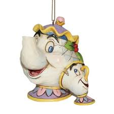 disney traditions by jim shore mrs potts chip hanging ornament
