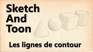 tutoriel sketch and toon lignes de contour youtube