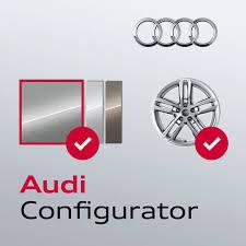 audi configurater audi configurator uk on the app store