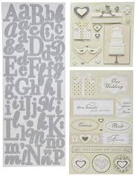scrapbook wedding k company scrapbook kit flip pack sticker