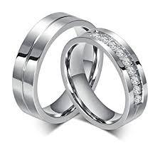 verlobungsringe paar bishilin männer frauen verlobungsringe edelstahl ringe für paar