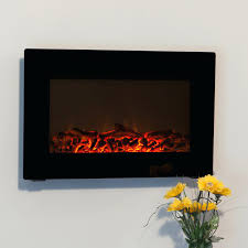 electric fireplace wall mounted heater tv stand home depot sams