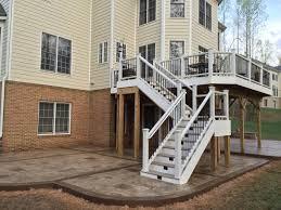 king koncrete deck steps