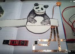 jeannine huffman paper panda robot prototype