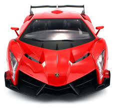 Lamborghini Veneno Red - licensed lamborghini veneno lp 750 4 battery operated rc car big 1