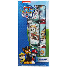 paw patrol 6 novelty crackers crackers at the works