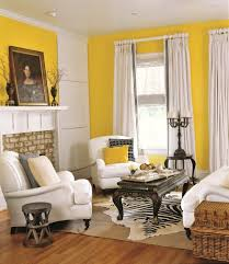 yellow living room home design
