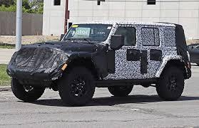 2018 jeep wrangler interior fully revealed 2018 jeep wrangler interior spied