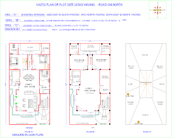 Vastu Floor Plans North Facing 30 60 House Plans In India U2013 Modern House