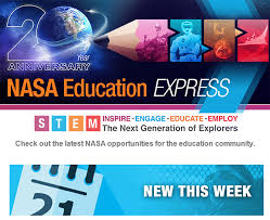 nasa education express learn more about the nasa