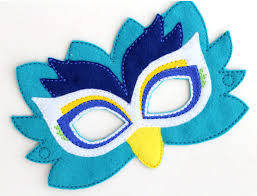 kids peacock mask peacock costume felt maskkids face mask animal