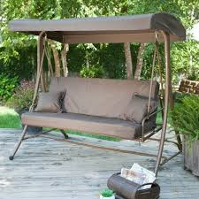 Swings For Patios With Canopy Patio Swing With Canopy Menards Backyard And Outdoor Furniture