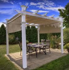 retractable pergola roof diy home design ideas