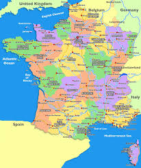 Normandy France Map Map Of France With Cities Recana Masana