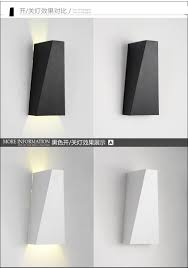 modern led wall lamp sconce 10w bedroom home lighting bedside