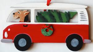 airedale terrier bus van dog christmas ornaments u2013 for the love