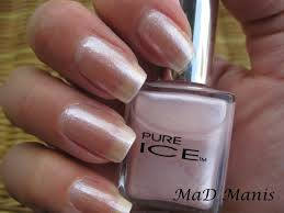 mad manis pure ice swatches