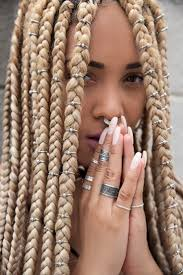 49 best hair images on pinterest hairstyles hair and braids 49 best blond box braids un ruly com images on pinterest