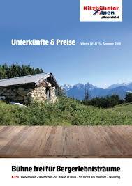 Unterkunftskatalog 2014 15 by Tourismusverband Pillerseetal issuu