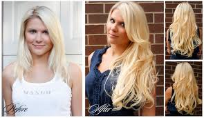 clip in hair extensions before and after before after clip in hair extensions 1