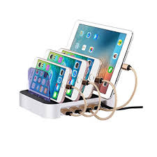 charging station organizer usb electronics charging station 4 port organizer u0026 fast battery