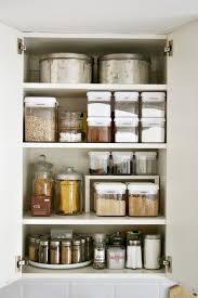 Organizing Kitchen Cabinets Storage Tips  Ideas For Cabinets - Kitchen cabinet shelving ideas