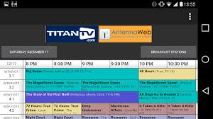 tv guide for antenna users titantv android apps on google play